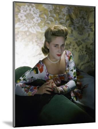 Vogue - July 1941-Horst P. Horst-Mounted Premium Photographic Print