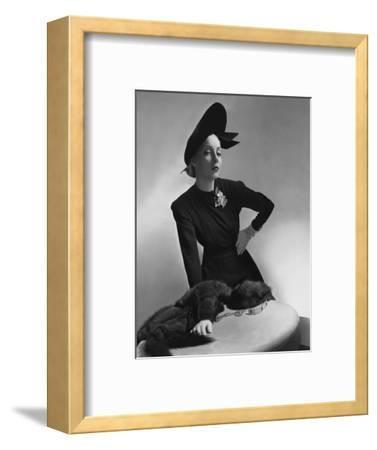 Vogue - July 1938-Horst P. Horst-Framed Premium Photographic Print