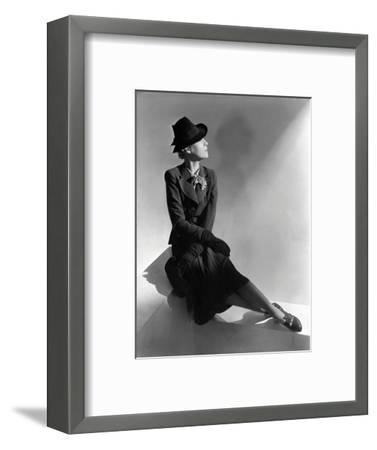 Vogue - January 1938-Horst P. Horst-Framed Premium Photographic Print