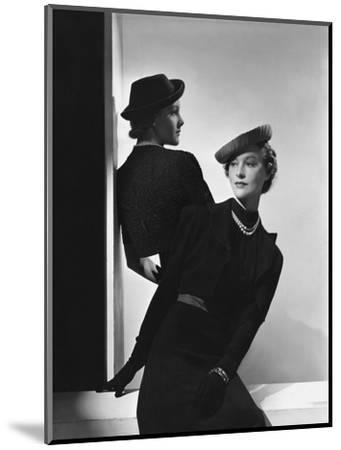 Vogue - January 1938-Horst P. Horst-Mounted Premium Photographic Print