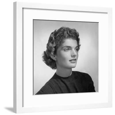 Vogue - February 1961-Horst P. Horst-Framed Premium Photographic Print
