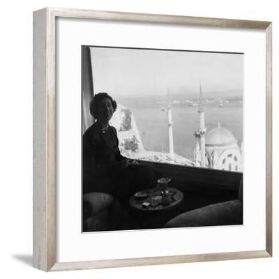 Vogue - November 1954-Horst P. Horst-Framed Premium Photographic Print