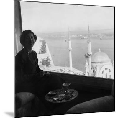 Vogue - November 1954-Horst P. Horst-Mounted Premium Photographic Print