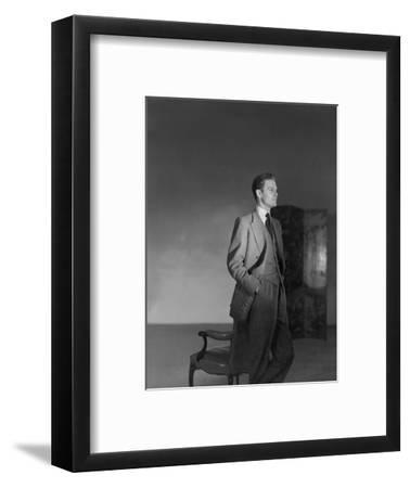 Vogue - August 1946-Horst P. Horst-Framed Premium Photographic Print