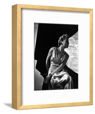 Vogue - May 1937-Horst P. Horst-Framed Premium Photographic Print