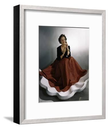 Vogue - August 1941-Horst P. Horst-Framed Premium Photographic Print