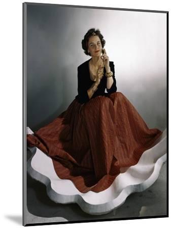 Vogue - August 1941-Horst P. Horst-Mounted Premium Photographic Print