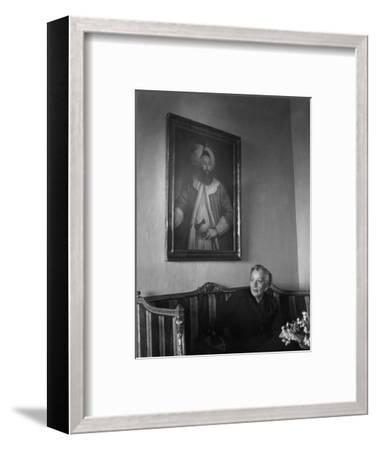 Naciye Killigil--Framed Premium Photographic Print