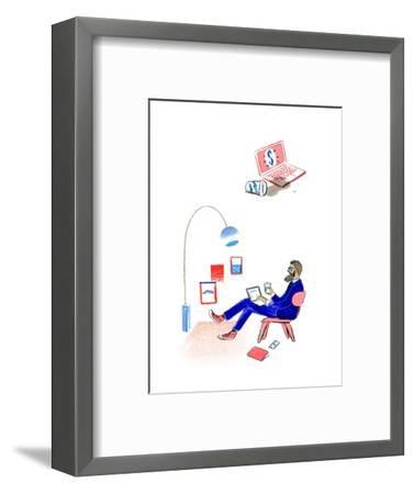 Wired--Framed Premium Giclee Print