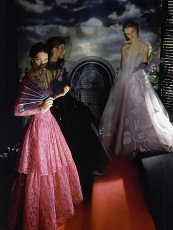 Vogue - November 1942-Horst P. Horst-Framed Premium Photographic Print