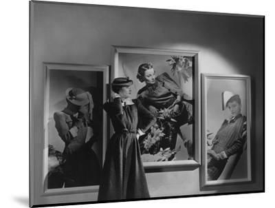 Vogue - February 1938-Horst P. Horst-Mounted Premium Photographic Print