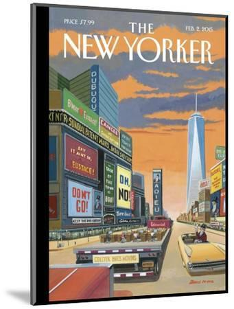 The New Yorker Cover - February 2, 2015--Mounted Premium Giclee Print