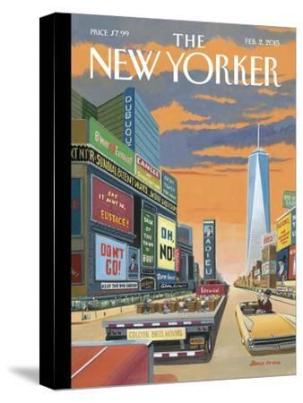 The New Yorker Cover - February 2, 2015--Stretched Canvas Print