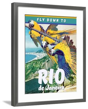 Rio de Janeiro--Framed Giclee Print