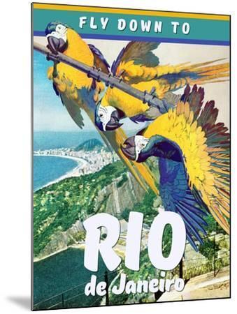 Rio de Janeiro--Mounted Giclee Print