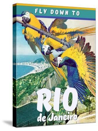 Rio de Janeiro--Stretched Canvas Print