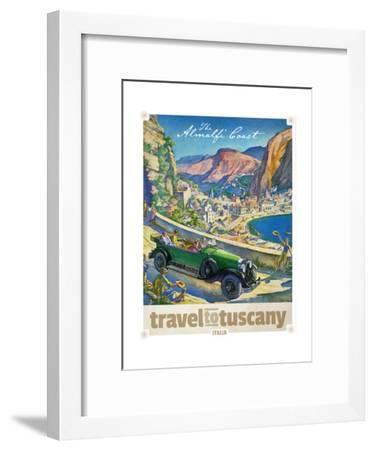 Travel to Tuscany--Framed Giclee Print