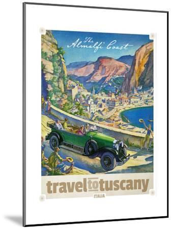 Travel to Tuscany--Mounted Giclee Print