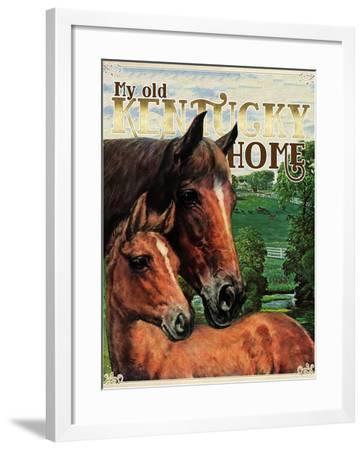 Kentucky Home--Framed Giclee Print