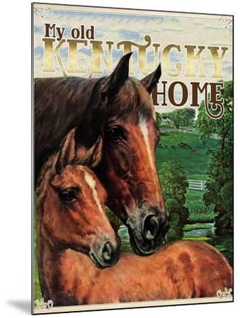 Kentucky Home--Mounted Giclee Print