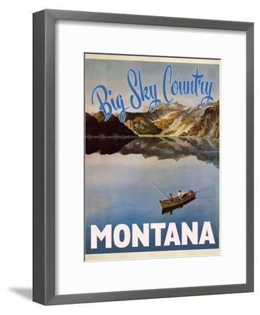 Big Sky Country--Framed Premium Giclee Print