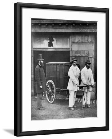Public Disinfectors, from 'Street Life in London', 1877-John Thomson-Framed Giclee Print
