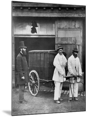 Public Disinfectors, from 'Street Life in London', 1877-John Thomson-Mounted Giclee Print