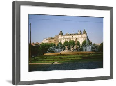 Exterior of the Hotel Ritz--Framed Photographic Print
