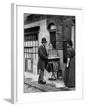 Street Doctor, 1876-77-John Thomson-Framed Giclee Print