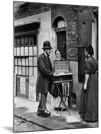 Street Doctor, 1876-77-John Thomson-Mounted Giclee Print