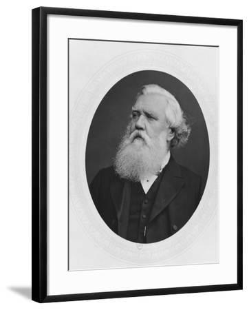 Portrait of Henry Layard, c.1880--Framed Photographic Print