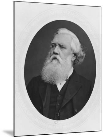 Portrait of Henry Layard, c.1880--Mounted Photographic Print