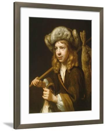 Portrait of a Young Sportsman-Wallerant Vaillant-Framed Giclee Print