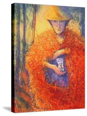 The Keeper of the Flowers, 2004-Silvia Pastore-Stretched Canvas Print