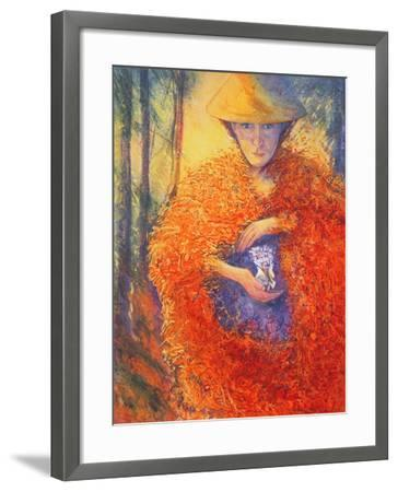The Keeper of the Flowers, 2004-Silvia Pastore-Framed Giclee Print