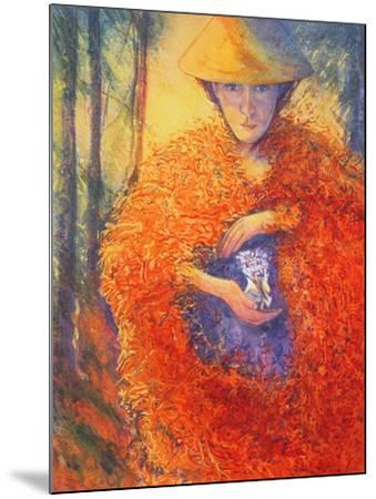 The Keeper of the Flowers, 2004-Silvia Pastore-Mounted Giclee Print