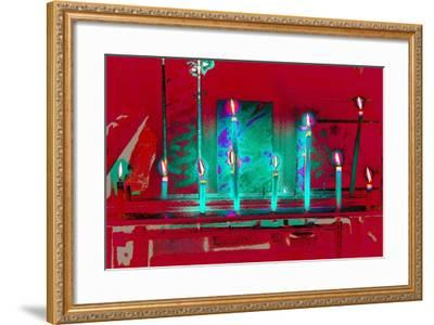 All But One, from the series, Votive Candles, 2015-Joy Lions-Framed Giclee Print