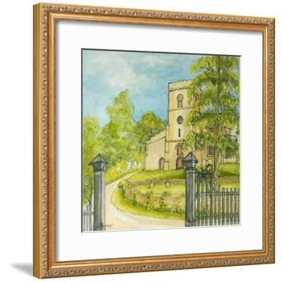 Moulton Curch, 2010-Joan Thewsey-Framed Giclee Print