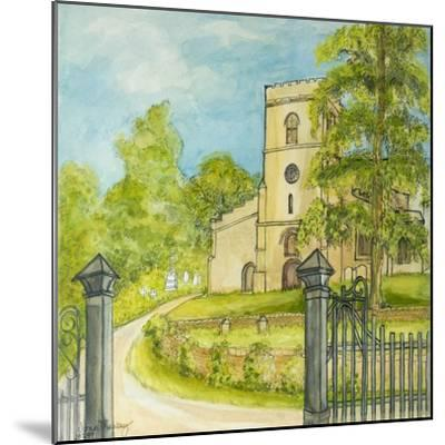 Moulton Curch, 2010-Joan Thewsey-Mounted Giclee Print