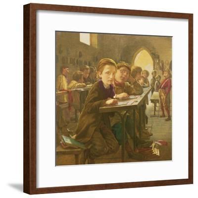 In the Classroom-J^ Harris-Framed Giclee Print