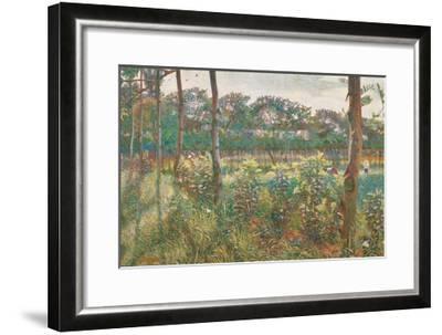 Lombard Countryside, 1908-Umberto Boccioni-Framed Giclee Print