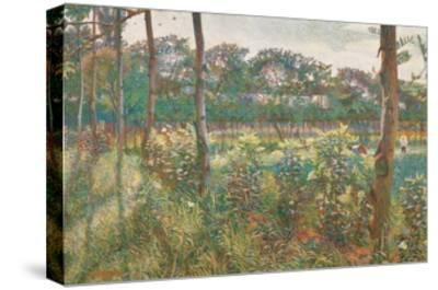 Lombard Countryside, 1908-Umberto Boccioni-Stretched Canvas Print