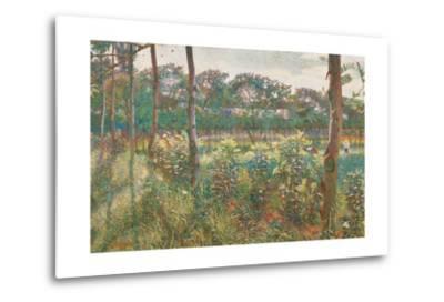 Lombard Countryside, 1908-Umberto Boccioni-Metal Print