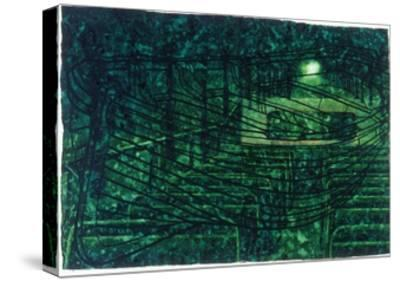 Trip-The Green Room-Graham Dean-Stretched Canvas Print