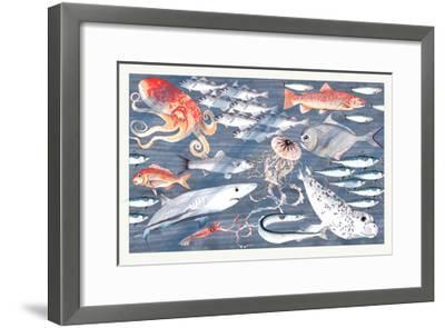 Open Sea-Jacqueline Colley-Framed Giclee Print
