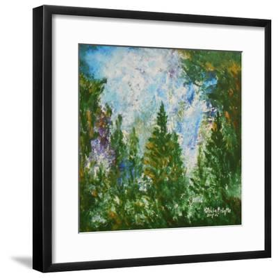 Winter Afternoon, 2015-Patricia Brintle-Framed Giclee Print