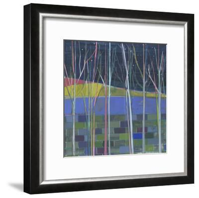 Stripes-Charlotte Evans-Framed Giclee Print