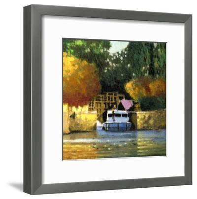 Le Canal-Max Hayslette-Framed Premium Giclee Print