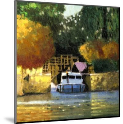 Le Canal-Max Hayslette-Mounted Premium Giclee Print