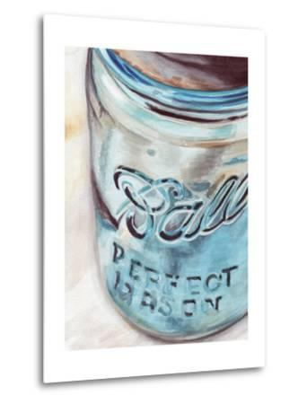 Mason Jar I-Redstreake-Metal Print
